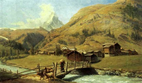 il villaggio di zermatt vallais suisse by federico ashton