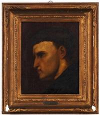 portrait d'un jeune moine by ary scheffer