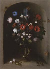 nature morte aux fleurs by johannes baers