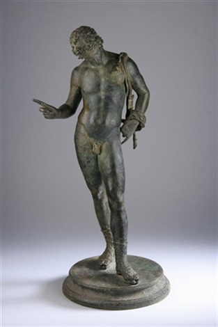 narcissus, after the antique by sabatino de angelis