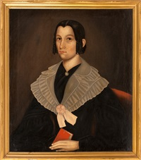portrait of susanne tilinghast of connecticut by erastus salisbury field