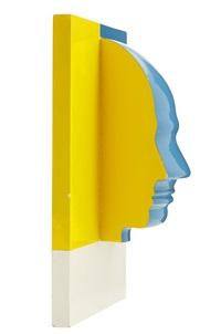 profil - väggobjekt by sivert lindblom