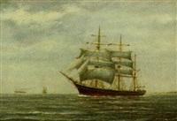 marine med sejlskibet