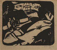 paysage by gustave de smet