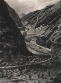 gold mining, cripple creek by william allen rogers