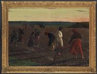 russische bäuerinnen in wolhynien, ukraine by antoine druet