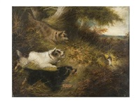 la cacería de la liebre by edward armfield