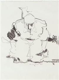 figura maschile by wainer vaccari