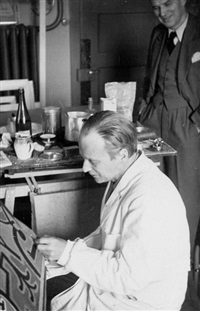 paul klee und will grohmann, bern by felix klee