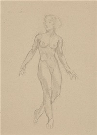 desnudo femenino by ismael smith