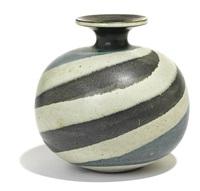 swirled vase by harrison mcintosh