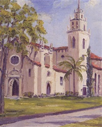 chapel, rollins college, winter park, florida by henry curtis ahl