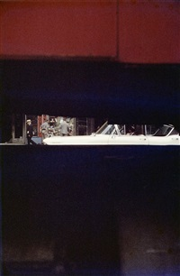 through boards by saul leiter