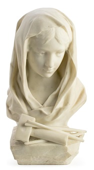 galatea o alegoría de la escultura by hector joseph lemaire