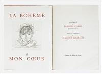 francis cargo: la bohème et mon coeur (bk w/11 works) by maurice barraud