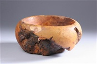 maple burl bowl by melvin lindquist