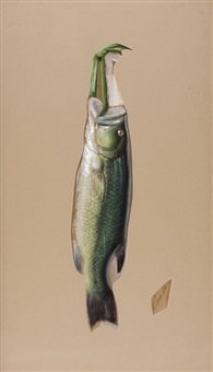 nature morte: trout by george joseph amede coulon