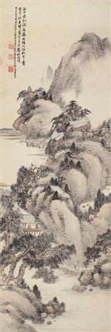 仿古山水 landscape by xiao junxian