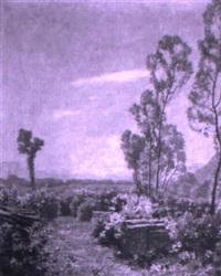 landschaft mit jungen weiden by fritz wilhelm rabending