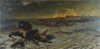 l'incendio di mosca del 1812 by roberto fontana