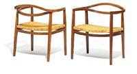 armchairs (pair) by ole gjerlov-knudsen