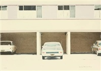 68 nova, pl. 5 (from a portfolio of ten lithographs by ten super-realists) by robert bechtle
