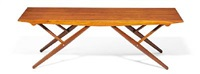 rare multifunctional table with adjustable height by helge vestergaard jensen