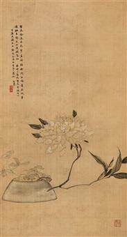 flowers by xu qi