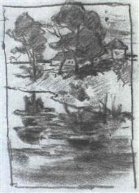 alte moosschwaige in dachau by arthur langhammer