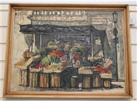 roses, vegetables by regis (count) de bouvier de cachard