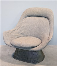 Fesselnd Lounge Sessel. Warren Platner