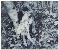 lovers in the forest (the israel museum, jerusalem, fall 1995) by gerhard richter