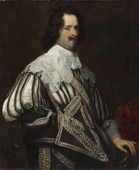 portrait of a nobleman by jan de reyn