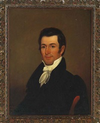 portrait of an elegantly dressed southern gentleman by george esten cooke