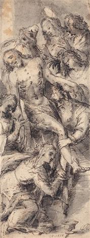 the entombment by flemish school 16