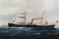 the steamer 'highland lassie' by william howard yorke