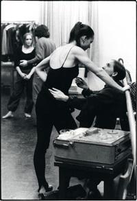 tanztheater pina bausch, pausen-bild by karl-heinz w. steckelings