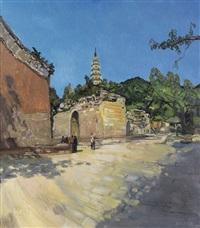 灵岩寺 by ren chuanwen
