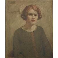 portrait of a young lady by russell taber hyde