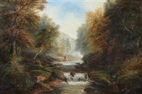 on the river hebden by joseph mellor