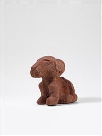 löwenselbst (schokoladenlöwe) by dieter roth