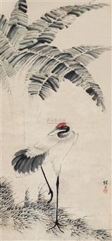仙鹤 (crane) by sima zhong
