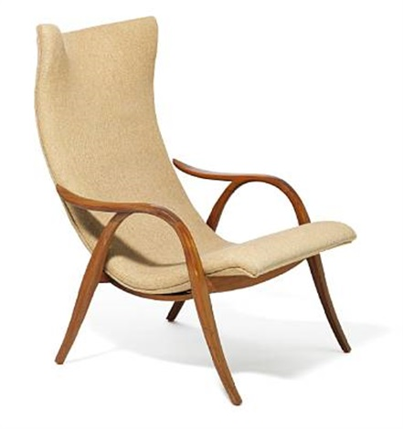 Merveilleux High Back Easy Chair By Frits Henningsen