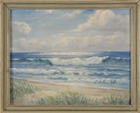 morning on the north beach by harold c. dunbar