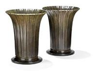 disko vases (pair) by just andersen
