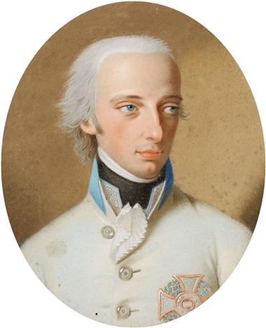 portrait of emperor franz ii by johann heinrich schmidt