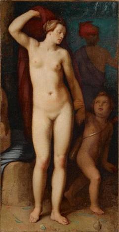 venus und amor by cornelis cornelisz van haarlem
