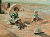 on the beach by a. karssen