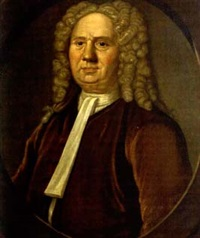 half-length portrait of captain john gerrish (1668-1738) by john smibert