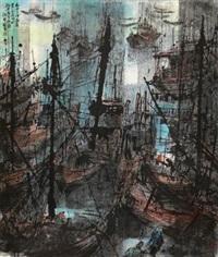 惠安渔港 (fishing port) by jiang mingxian